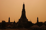 Tower Art - Wat Arun by Adam Romanowicz