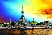 Gregory Smith - Wat Arun Digital Dawn