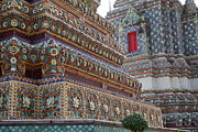 Wat Photos - Wat Pho - Bangkok Thailand - 011312 by DC Photographer