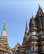 Bangkok Photos - Wat Pho - Bangkok Thailand - 011314 by DC Photographer