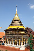 Asia Photo Prints - Wat Phra That Lampang Luang - Lampang Thailand - 011315 Print by DC Photographer
