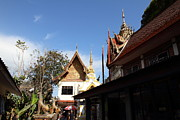 Wat Metal Prints - Wat Phrathat Doi Suthep - Chiang Mai Thailand - 01134 Metal Print by DC Photographer