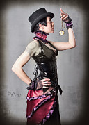 Steampunk Photos - Watch the Watch by David April