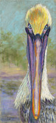 North American Wildlife Pastels - Watching The Watcher by Kate Owens