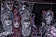 Venice Masks Prints - Watching You Print by Tom Prendergast