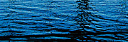 TONY GRIDER - Water Abstract in Black and Blue