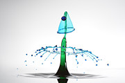 Leon Dafonte Fernandez - Water Drop Liquid Art...
