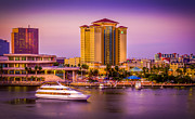 Water Front Tampa Print by Marvin Spates
