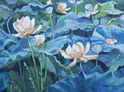 Jan Bennicoff - Water Lilies Two