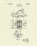 Water Scooter 1961 Patent Art Print by Prior Art Design