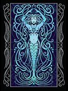 Mermaid Digital Art - Water Spirit v.2 by Cristina McAllister