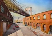 Todd Derr - Water Street Under The Brooklyn Bridge