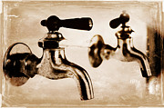 Household Photo Originals - Water Tap by Dieter  Lesche