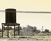Charlette Miller - Water Tower in Boron...