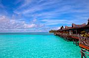 Fototrav Print - Water village on tropical island