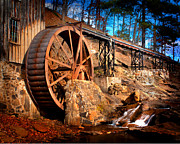 Todd Hanes - Water Wheel - Sixes Mill