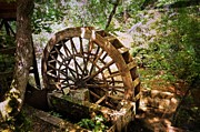 Marty Koch Photo Posters - Water Wheel Poster by Marty Koch