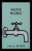 Cartoon Art Posters - Water Works Poster by Rob Hans