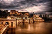 Philadelphia Art Museum Prints - Water Works Print by Robert Dietrich