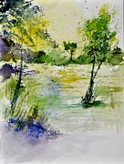 Pol Ledent - Watercolor 413022