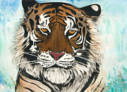 Annie Seddon - Watercolor Tiger