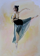 Steve Jones - Watercolour Dancer