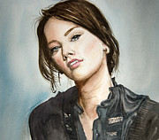 Bakhtiar Umataliev - Watercolour Portrait