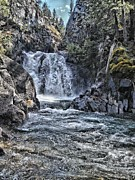 Rusty Jeffries - Waterfall at Wallowa...