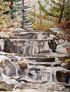 Kathryn Kerekes - Waterfall in the Gardens