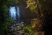 Keith Allen - Waterfall in the Smoky