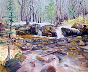 Marie Bergman - Waterfall KLO creek