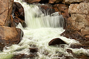 Gatlinburg Photo Posters - Waterfall Poster by Lena Auxier