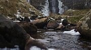 Riley Handforth Metal Prints - Waterfall Metal Print by Riley Handforth