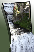 Nature Picture Posters - Waterfall Poster by Shane Bechler