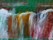 Decorativ Paintings - Waterfalls by Lars Tuchel