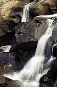 Rock  Art - Waterfalls by Les Cunliffe