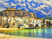 Dominic Piperata - Waterfront at Cefalu Sicily