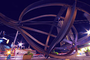 Modern Sculpture Prints - Waterfront Night Print by Charline Xia