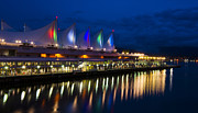 Vancouver Photos - Waterfront Vancouver by James Yang