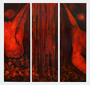 Holly Suzanne Filbert - Waterplay Triptych