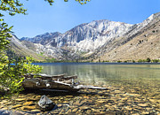 Convict Lake Art - Waters Edge by Kim Swanson