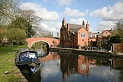 Mark Severn Metal Prints - Waterside Pub Metal Print by Mark Severn