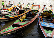 ArtPhoto-Ralph A  Ledergerber-Photography - Watertaxis At The Yangon...
