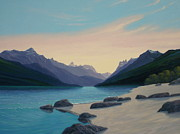 Chris MacClure - Waterton Lake Morning
