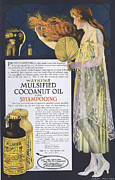 Nineteen-tens Art - Watkins 1918 1910s Usa Shampoo by The Advertising Archives
