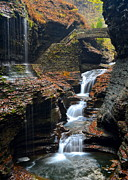 Glen Creek Prints - Watkins Glen Print by Robert Harmon