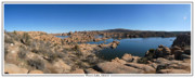 Prescott Framed Prints - Watson Lake Arizona January 24 2011 Framed Print by Brian Lockett