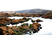 Watson Lake Photo Metal Prints - Watson Lake Metal Print by Greg Thiemeyer