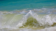 H2o Framed Prints - Wave 3 Framed Print by Cheryl Young