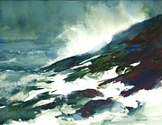 William Beaupre - Wave And Rocks - Storm...
